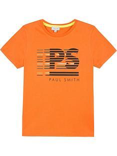 paul-smith-junior-boys-voilou-ps-short-sleeve-t-shirt-orange