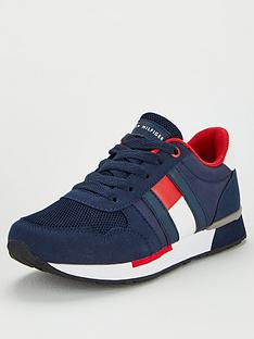 tommy-hilfiger-flag-lace-up-trainers-blue