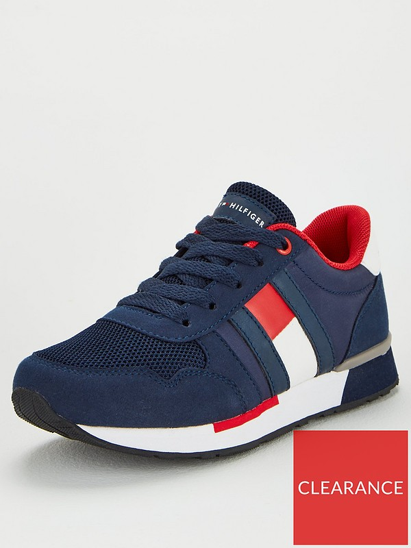Tommy Hilfiger Flag Lace Up Trainers