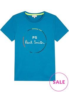 paul-smith-junior-boys-vernier-ps-short-sleeve-t-shirt-bluenbsp