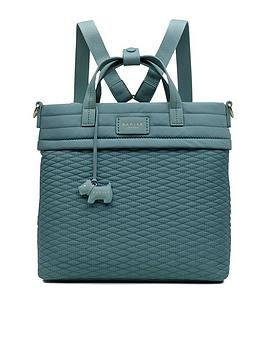 radley-penton-mews-medium-zip-top-backpack-blue