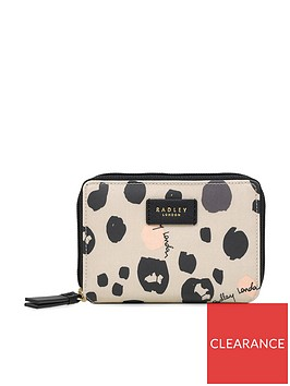 radley-bubble-dog-small-purse-grey