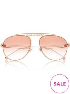 dolce-gabbana-oversized-aviator-sunglasses-rose