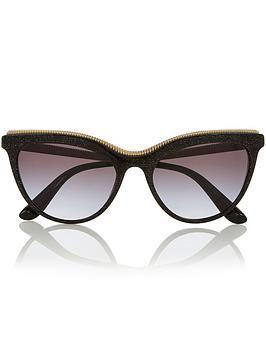 dolce-gabbana-oversized-cat-eye-sunglasses-black