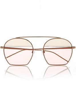 emporio-armani-round-flat-base-high-bridge-sunglasses-rose
