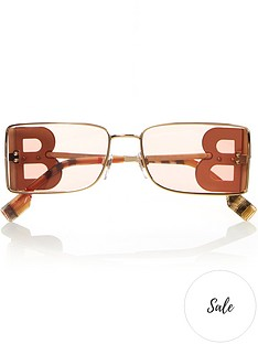 burberry-rectangle-logo-sunglasses-gold