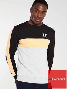 11-degrees-leon-sweatshirt-blackpeachgrey