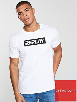replay-archive-block-logo-t-shirt-white