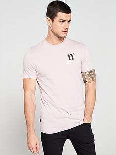 11-degrees-core-t-shirt-pink