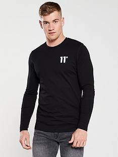 11-degrees-core-long-sleeve-t-shirt-black