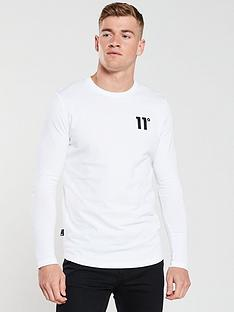 11-degrees-core-long-sleeved-t-shirt-white