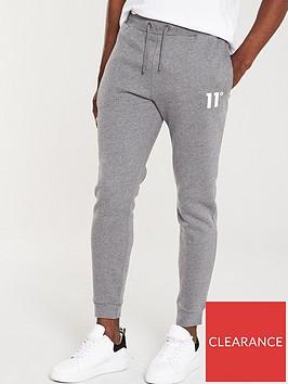 11-degrees-core-jogger-regular-fit-grey-marl