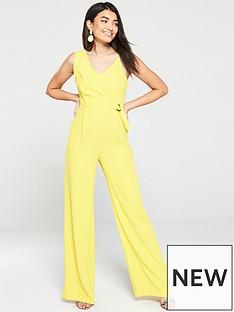 mango-mango-wrap-detail-strappy-wide-leg-jumpsuit