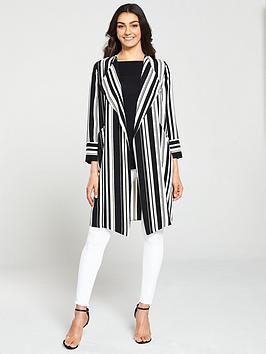 wallis-envelope-stripe-duster--nbspmonochrome