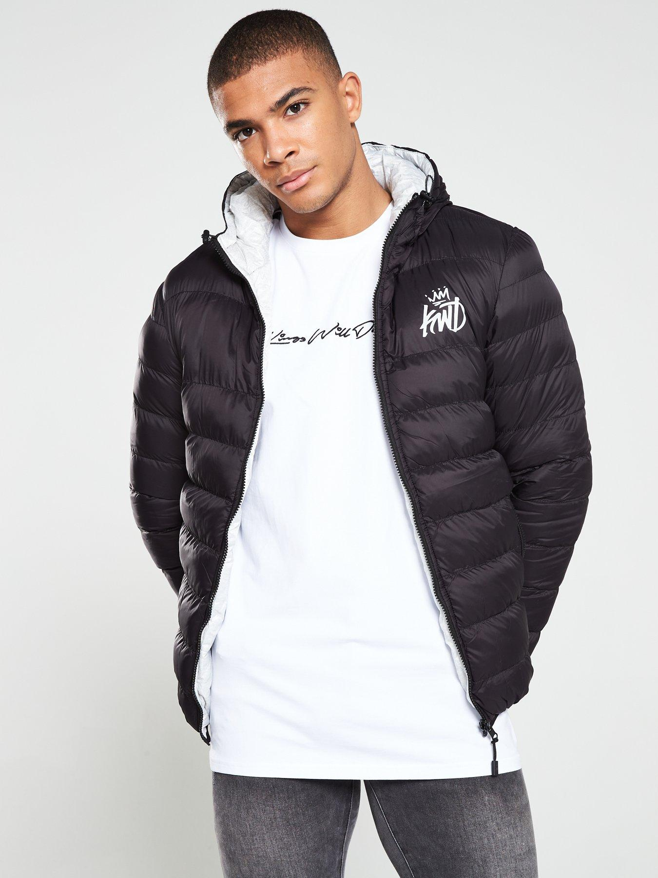 Mens Quilted Jackets   Padded Jackets   Very.co.uk