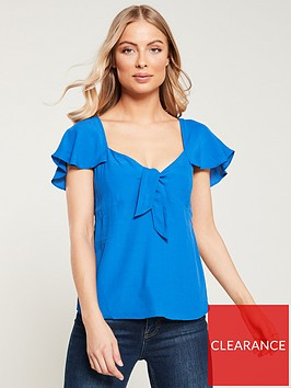oasis-tie-front-top-rich-blue