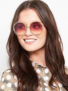 chloe-round-sunglasses-gold