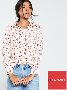 v-by-very-button-through-georgette-shirt-floral-print