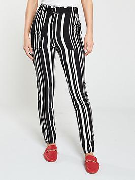 v-by-very-belt-detail-striped-trouser