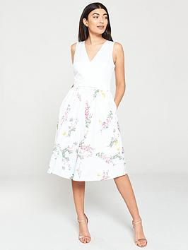 ted-baker-reyyne-full-skirted-sleeveless-dress-white