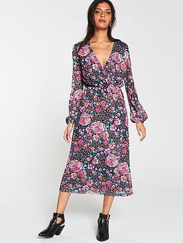 v-by-very-wrap-printed-midi-dress-multi