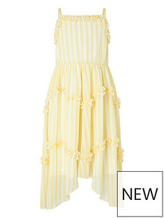 monsoon-girls-sunflower-stripe-maxi-dress-yellow