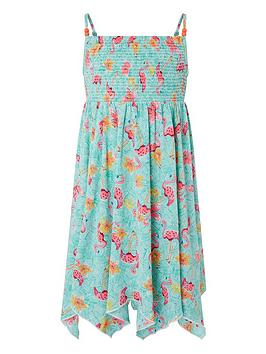 monsoon-girls-skye-flamingo-dress-turquoise