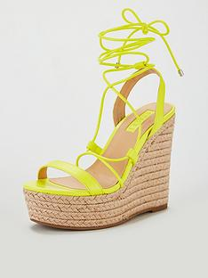 office-hula-platform-wedges-yellow