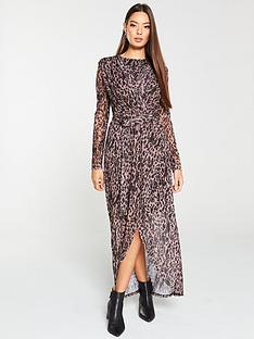 v-by-very-mesh-midi-dress-leopard