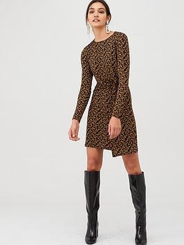 v-by-very-twisted-jersey-mini-dress-animal-print