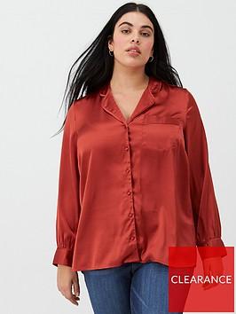 v-by-very-curve-satin-pj-blouse-rust