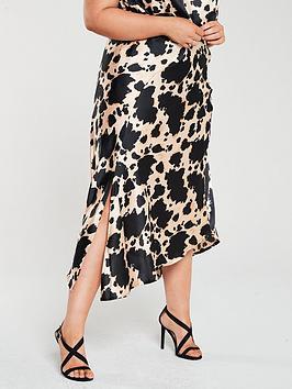 v-by-very-curve-satin-skirt-cow-print
