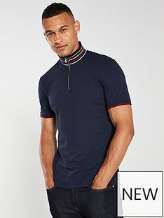 selected-homme-chip-polo-shirt-navy