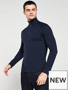 selected-homme-jake-high-neck-zip-sweater-navy
