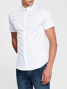 armani-exchange-short-sleeve-shirt-white