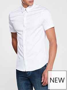 armani-exchange-short-sleeve-shirt-white