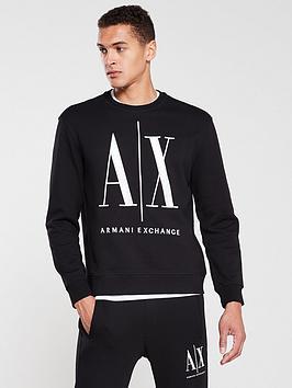 armani-exchange-large-embroidered-logo-sweatshirt-black