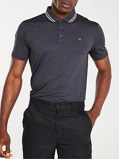 calvin-klein-golf-madison-tech-polo-grey-marl