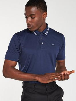 calvin-klein-golf-madison-tech-polo-navy-marl