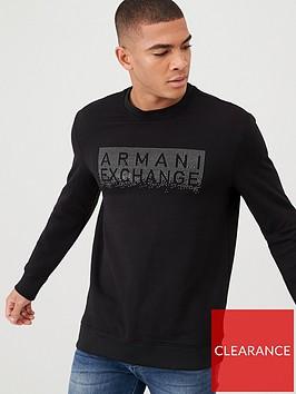 armani-exchange-studded-logo-sweatshirt