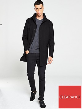 selected-homme-mosto-wool-mix-coat-black