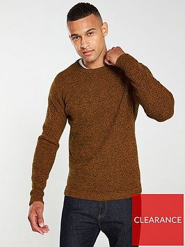 selected-homme-victor-crew-neck-jumper-caramel