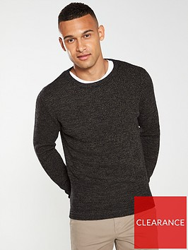 selected-homme-victor-crew-neck-jumper-charcoal