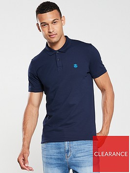 selected-homme-haro-short-sleeve-embroidered-polo-shirt-navy