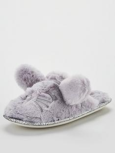v-by-very-bop-rabbit-novelty-slippers-grey