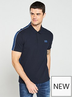armani-exchange-panel-polo-shirt-navy