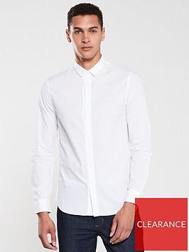 armani-exchange-embroidered-logo-long-sleeve-shirt-white