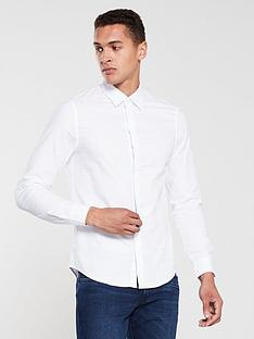 armani-exchange-oxford-shirt-white