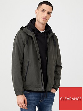 boss-ovoda-lightweight-hooded-coat-khaki