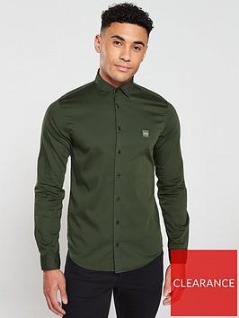 boss-mypopnbspii-long-sleeved-shirt-forest-green